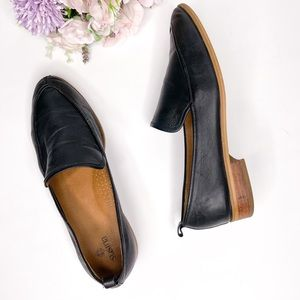 Susina Soft Black Leather Loafers 7.5